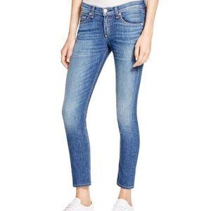 Rag & bone Capri Ankle Skinny Jeans in Rae
